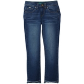 YMI Jeans Girls Wanna Betta Fit High Low Anklet Jeans