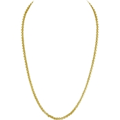 Robert Manse Designs 23K 1 Thai Baht Yellow Gold 18 in. Rolo Link Chain