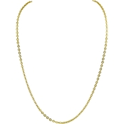Robert Manse Designs 23K 1/2 Thai Baht Yellow Gold 21.5 in. Puff Rolo Chain