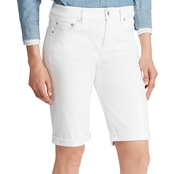 Lauren Ralph Lauren Petite Superstretch Denim Shorts