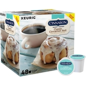 Keurig Green Mountain Cinnabon Cinnamon Roll K-Cup 48 Pk.