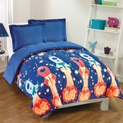 Gizmo Kids Blast Off 2 Pc. Twin Comforter Set