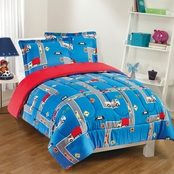 Gizmo Kids City Streets Comforter Set