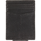 RFID Blocking Perforated Leather Money Clip