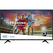Hisense 43 in. 2160p 4K HDR 60Hz Smart TV 43H6080E