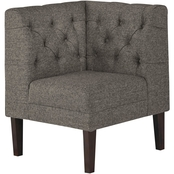 Signature Design by Ashley Tripton Corner Upholstered Dining Room Bench