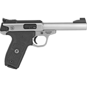 S&W Victory Target 22 LR 5.5 in. Barrel 10 Rnd Pistol Stainless Steel