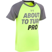 Under Armour Toddler Boys About to Turn Pro Raglan Tee