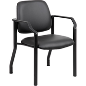 Presidential Seating Heavy Duty Microbial Guest Chair with Arms