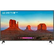 LG 75 In. 4K UHD HDR Smart TV 75UK6570PUB