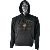 Black Knights Army West Point Athena Shield logo v2 Hoodie