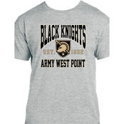 U.S. Army West Point Black Knights Athena Shield Logo Tee