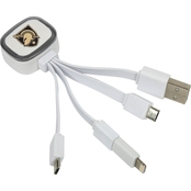 QuikVolt West Point Black Knights Tri Charge USB Cable