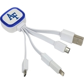 QuikVolt Air Force Falcons Tri Charge USB Cable