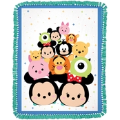 Springs Creative Disney Tsum Tsum Panel No Sew Fleece Throw Kit