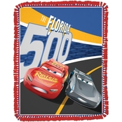 Springs Creative Disney Cars 3 No Sew Fleece Throw Kit