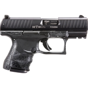 Walther PPQ M2 SC 9mm 3.5 in. Barrel 10 Rnd 2 Mag Pistol Black