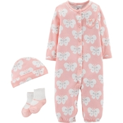 Carter's Infant Girls Butterfly Take Me Home Set
