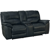 Bassett Club Level Benson Power Reclining Loveseat