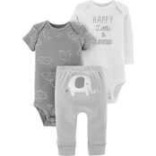 Carter's Infant Boys 3 Pc. Elephant Set