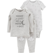 Carter's Infant Boys 3 Pc. Mommy Loves Me Set