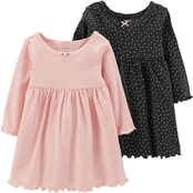 Carter's Infant Girls Dress Set, 2 Pk.