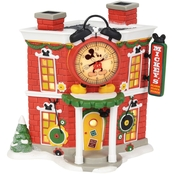 Enesco Disney Village Mickey's Alarm Clock Shop