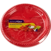 Exchange Select Plastic Plates 9 in. / 15 pk.
