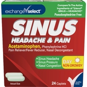 Exchange Select Daytime Sinus Congestion and Pain Tablets 24 ct.