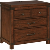 Scott Living Artesia 3 Drawer Nightstand