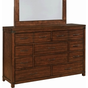 Scott Living Artesia 10 Drawer Dresser
