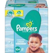Pampers Complete Clean Wipes 216 ct.
