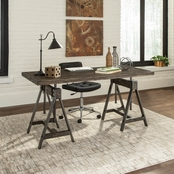 Scott Living Deponte Industrial Adjustable Writing Desk