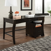 Scott Living Transitional Curved Leg Writing Desk