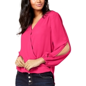 INC International Concepts Split Sleeve Top