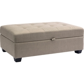 CorLiving Antonio Storage Ottoman