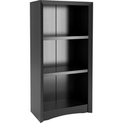 CorLiving Quadra 47 in. Tall Bookcase in Faux Woodgrain Finish