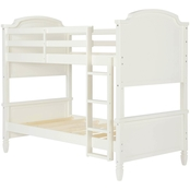 Dorel Living Vivienne Twin Over Twin Bunk Bed