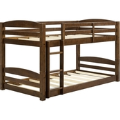 Dorel Living Sierra Twin Bunk Bed