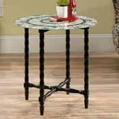 Sauder Viabella Sasparilla Side Table