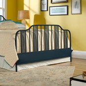 Viabella Queen Footboard Navy Blue