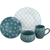 Baum Essex Moroccan 16 Pc. Dinnerware Set