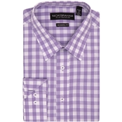 Nick Graham Modern Fitted Gingham Check Dress Shirt