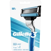 Gillette3 Men's Razor + 2 Cartridges