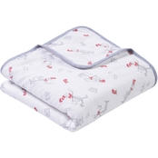Trend Lab Dr. Seuss The Cat in the Hat Luxe Muslin Blanket