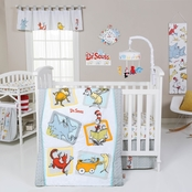 Trend Lab Dr. Seuss Friends 5 pc. Crib Bedding Set