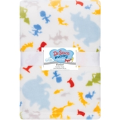 Trend Lab Dr. Seuss Plush Baby Blanket
