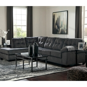 Signature Design by Ashley Accrington 2 pc. Sectional RAF Sofa/LAF Corner Chaise
