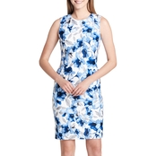 Calvin Klein Collection Printed Scuba Dress