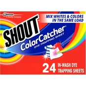 Shout Color Catcher Dye Trapping In Wash Sheets 24 pk.